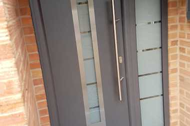 steel composite front door