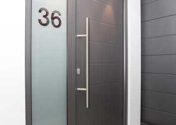 modern from entrance door for apartments
