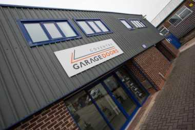 coventry garage doors showroom exterior