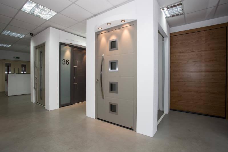 Our garage door showroom coventry garage doors for Coventry garage doors